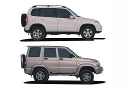 Chevrolet Niva и UAZ Patriot